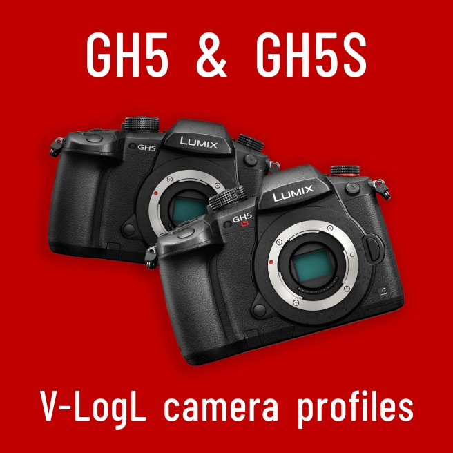 ​Panasonig Lumix DC-GH5 & GH5S V-LogL camera profile