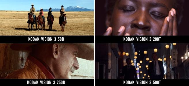 Modern motion picture color negative films