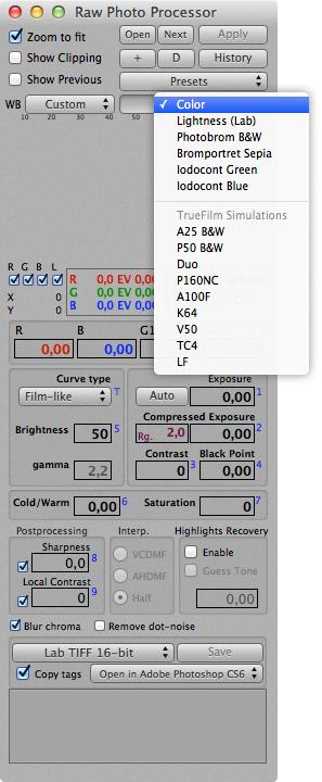LIFELIKE book: Raw Photo Processor